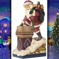 MAKING MAGIC – VICTORIAN SANTA IN CHIMNEY