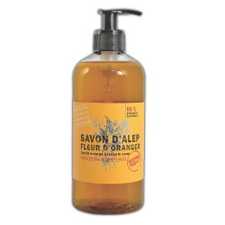 ALEPPO LIQUID SOAP FLEUR DE ORANGE 500ml