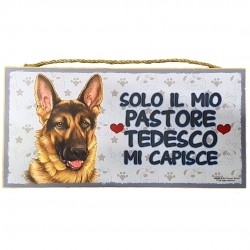 GERMAN SHEPHERD - wooden plaque